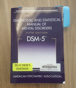 This is a picture of the DSM-5